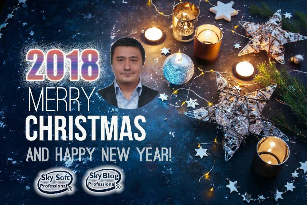 Merry Christmas 2018 Hossein Lotfali